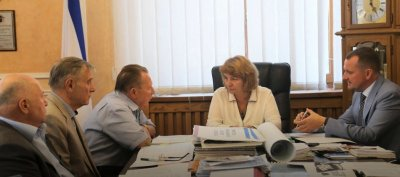 В Совмине Республики Крым проведено рабочее совещание по проведении мероприятий, посвященных 100-летию ВЛКСМ